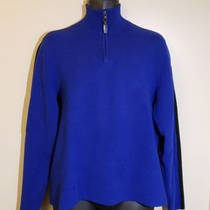 Polo By Ralph Lauren 1/4 zip mock neck